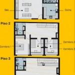 Plano de Vivienda Pequeña 7,5m x 10m