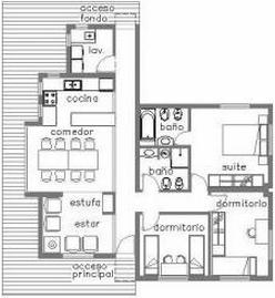 Estilos de casas para construir for Planos para construccion casas pequenas