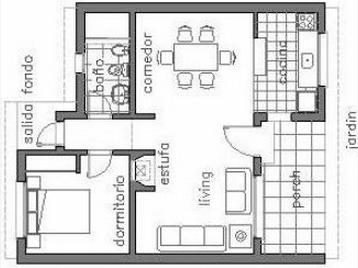 Plaa for Planos para construccion casas pequenas