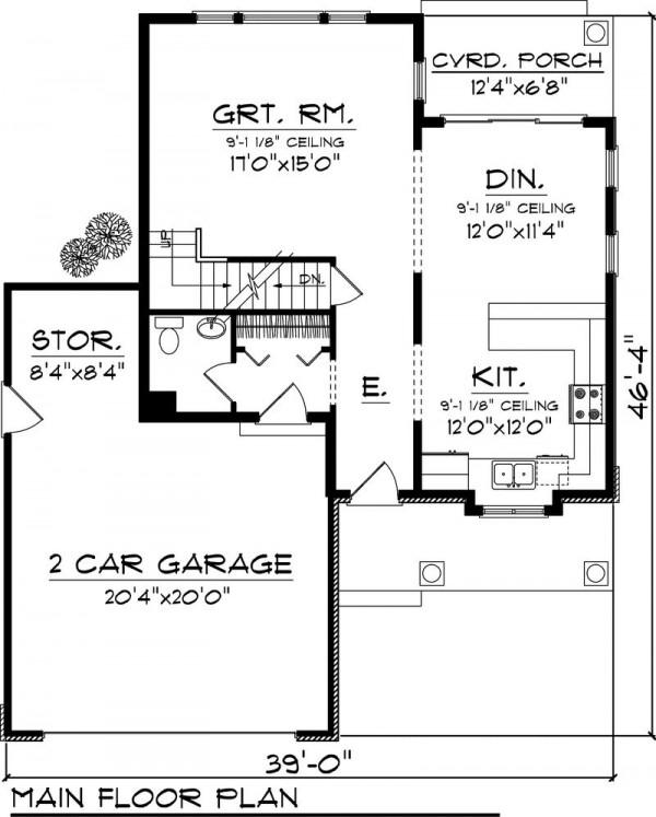 Plano de casa de campo de 150 metros cuadrados for Planos de casas de campo de 3 dormitorios