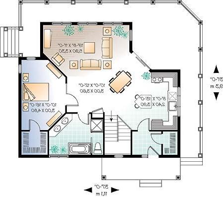 Planos y dise os de casas for Planos de casas medianas