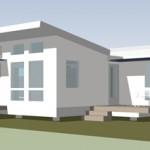 Plano de Casa Pequeña de 60 metros cuadrados