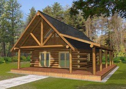 Disenos de cabanas de madera for Disenos de cabanas