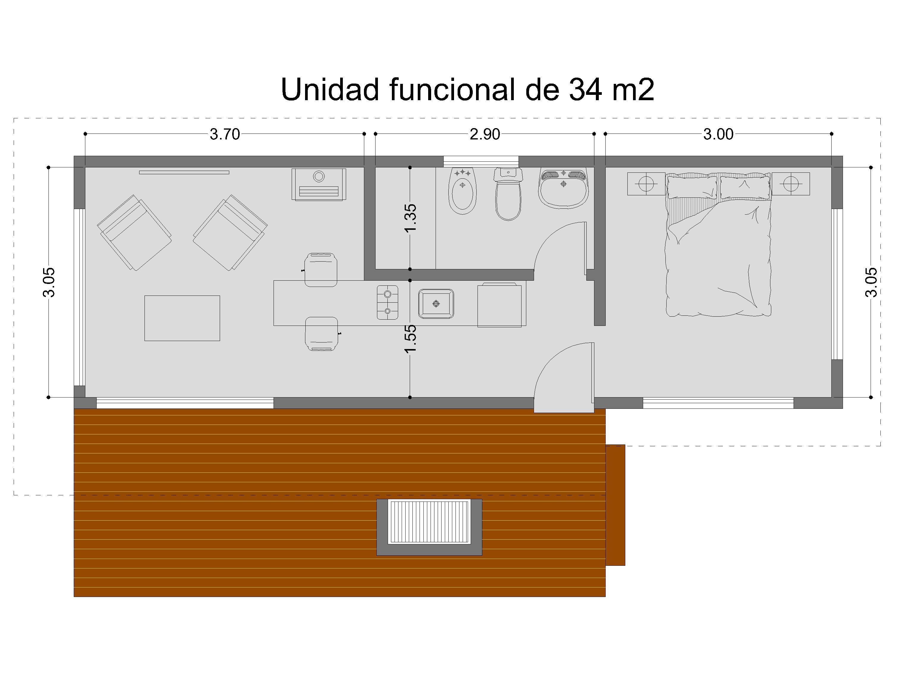 Cabanas pequenas disenos planos de casas for Casas campestres modernas planos