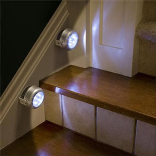 Iluminacion para cabanas - Iluminacion led escaleras ...