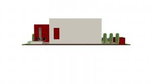 Planos de Casa Pequeña Estilo Moderno 5