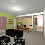 Planos de Casa Pequeña Estilo Moderno