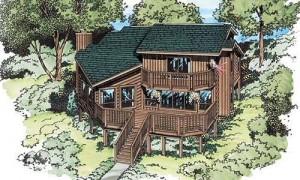 Planos-de-duplex-contemporáneo-de-dos-niveles