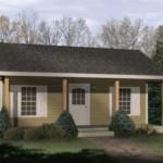 Diseño de casa de campo pequeña
