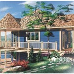 Casa estilo chalet de Dos Niveles