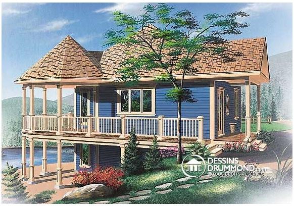 casa estilo chalet