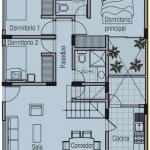 Planos de Casa de 8×10 metros