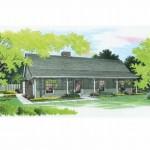 Planos-de-casa-rural-de-un-solo-nivel-tres-dormitorios-dos-baños-un-garaje