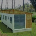 Diseño luminoso de casa container