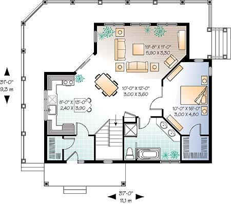 Casa ecologica 02 for Como disenar una casa de dos pisos