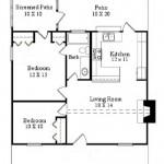 Casa de vacaciones con dos habitaciones
