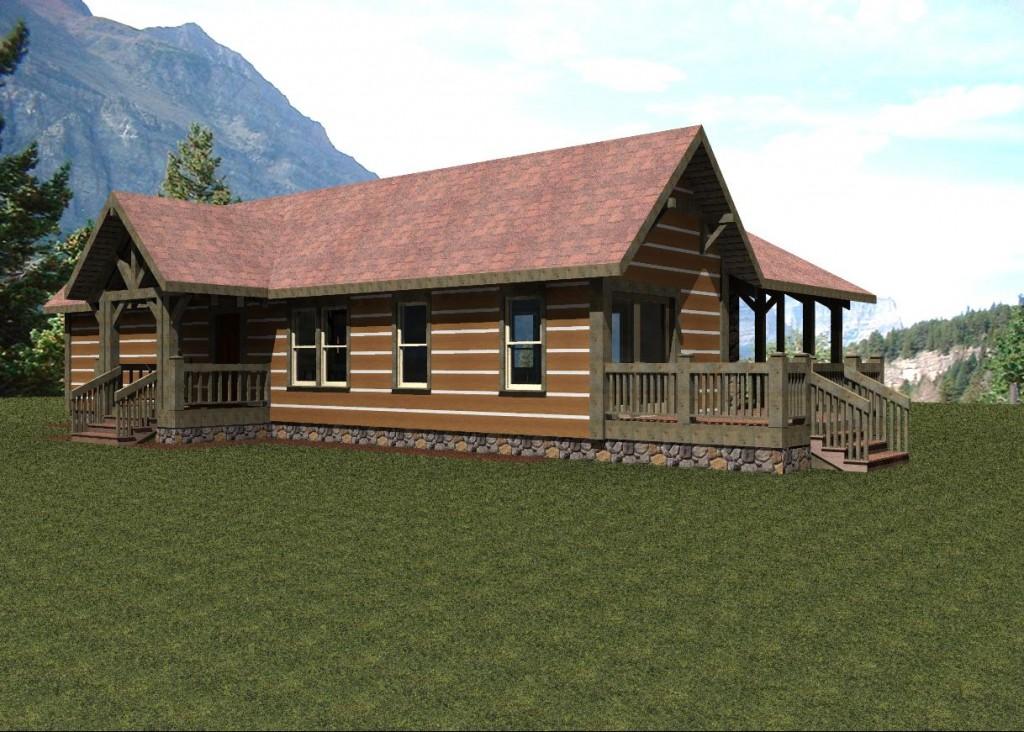 Modelo de casa rustica de montana planos de casas for Modelos de casas rusticas de campo