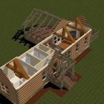 planos-de-estructura-de-casa-rustica-de-montana