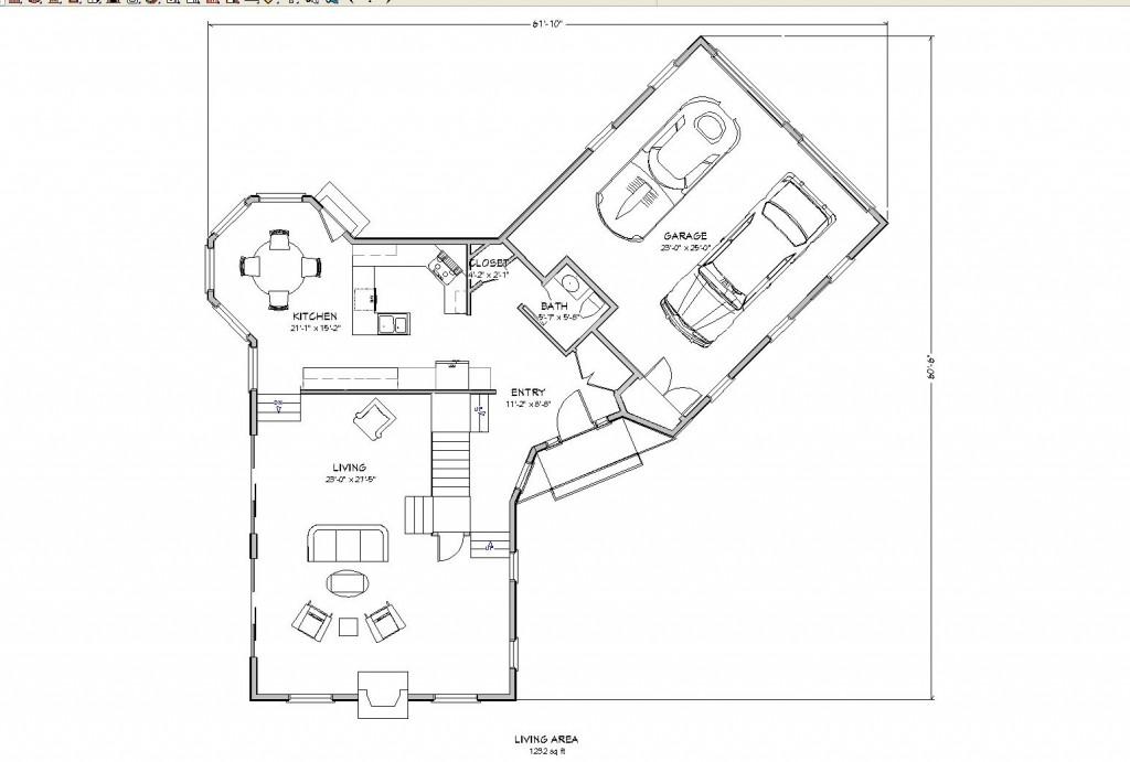 Planos de vivienda americana con garaje primer piso planos de casas - Planos de casas con garaje ...