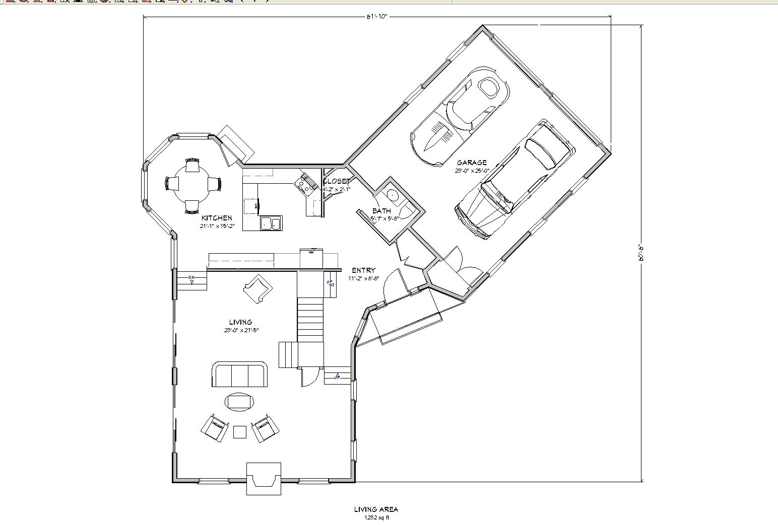planos-de-vivienda-americana-con-garaje-primer-piso