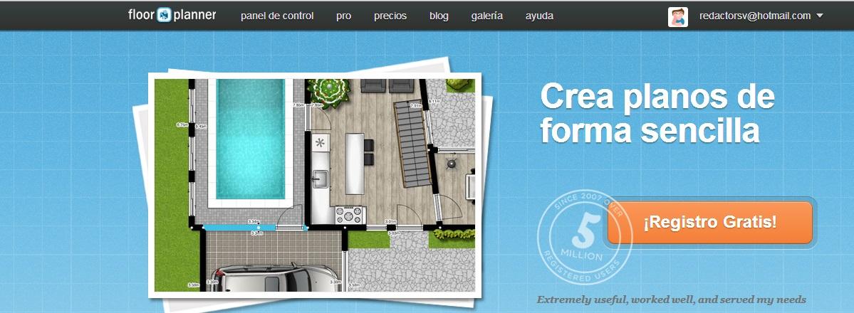 Puedes tener una gama de herramientas y tambi n mobiliario for Crear planos de casas en 3d gratis online