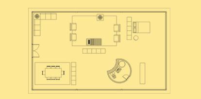 Plano de casa de cristal