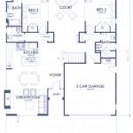 Plano casa grande estilo moderno