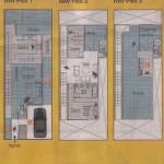 Casa de Tres Niveles con Tres habitaciones