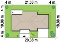 Plano terreno para casa rustica