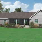 Planos de Casa Prefabricada de cuatro habitaciones