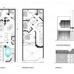 Casa pequeña de 2 niveles con tan solo 90 m2