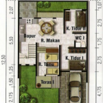 Casa estilo minimalista de 4 dormitorios