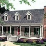 Casa estilo colonial de 3 habitaciones