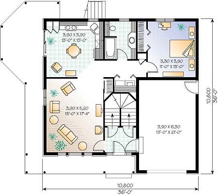 Planos de chalet de 160m planos de casas - Plano de chalet ...