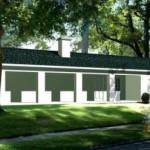 Casa pequeña de 1 habitación y Garage