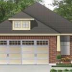 Plano casa pequeña con garaje