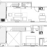 Plano para loft en dos plantas