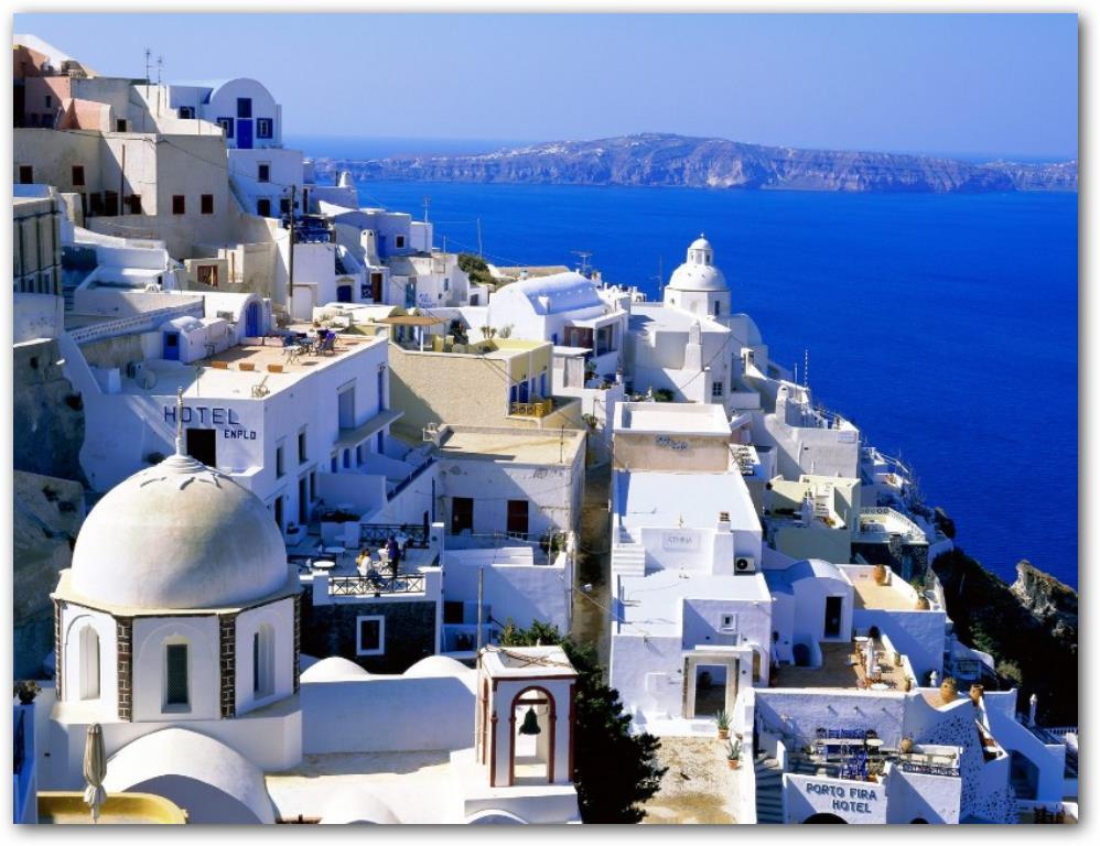 Casas de las costas mediterraneas