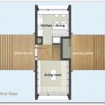 Vivienda moderna y ecológica de 2 dormitorios