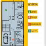 Casa de 3 pisos y 5 dormitorios