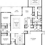 Plano de casa estilo mediterranea