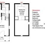 Plano para pequeña casa rodante