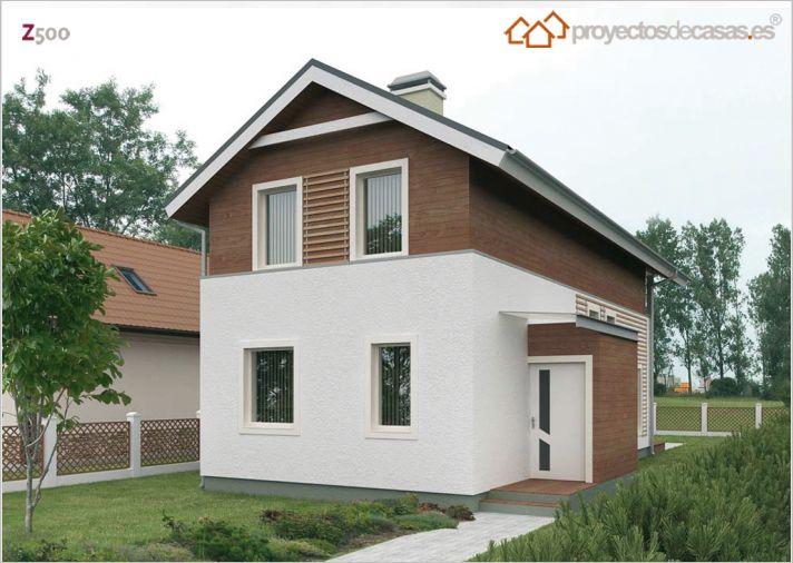 Casas pr fabricadas pequenas plano de casa en forma de l for Casas de madera baratas pequenas