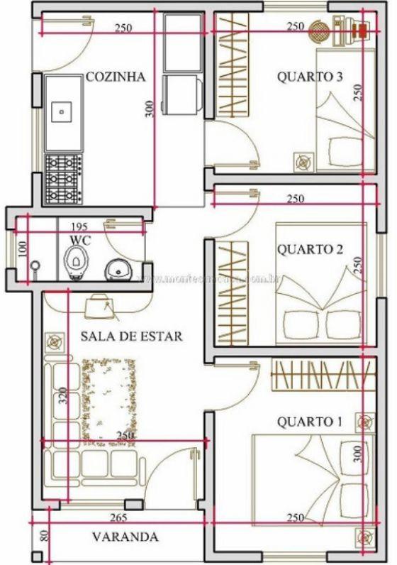 Presupuesto para construir una casa de 5x10 planos de casas for Diseno de casa de 5 x 10