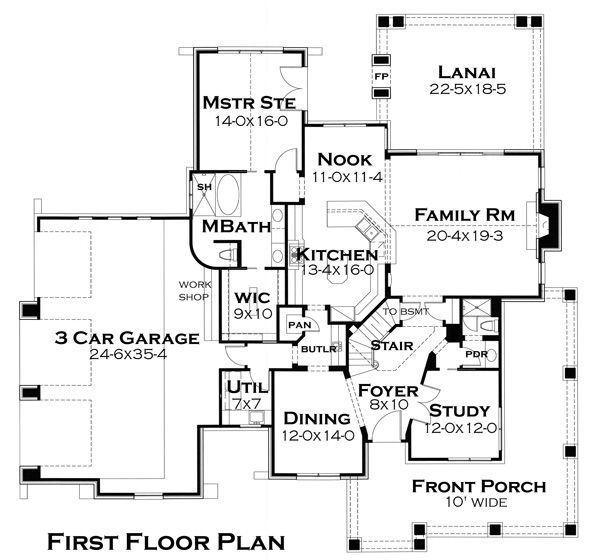 plano de casa llamativa de metros cuadrados y