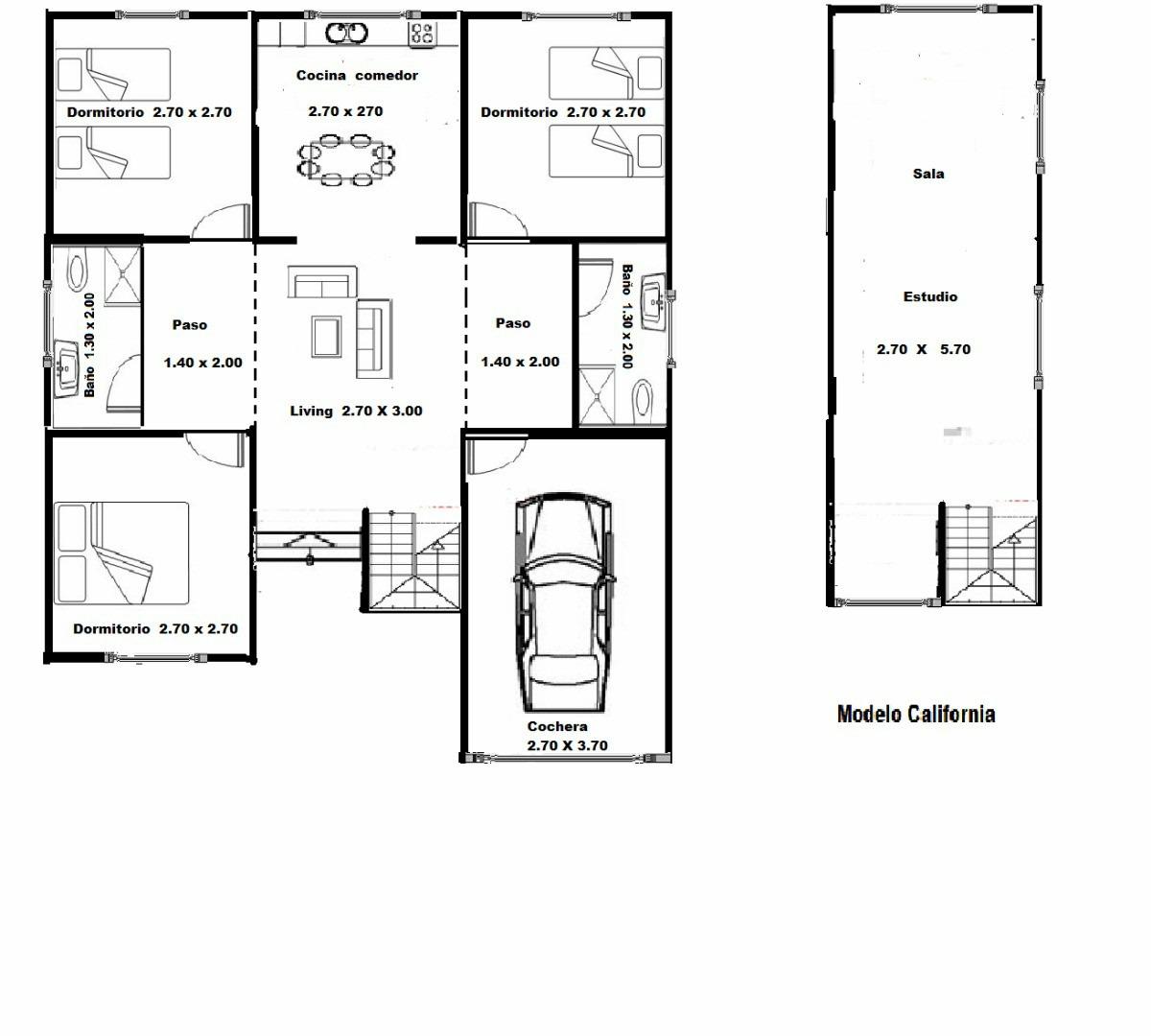 Viviendas roca tipo americano planos de casas for Programa para planos de viviendas