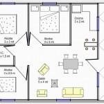 Casa prefabricada en 70 metros cuadrados