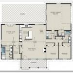 Plano de 3 dormitorios para construir en esquina