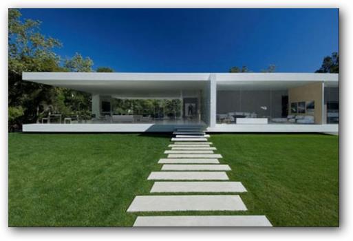 loft con fachada minimalista