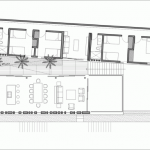 Plano para lujosa casa de playa con 6 habitaciones